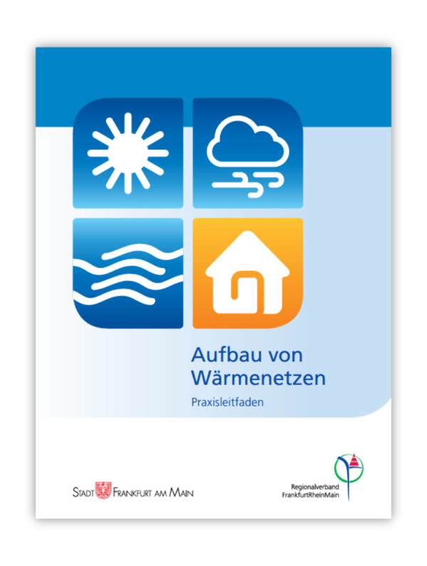 Cover vom Praxisleitfaden: Aufbau von Wärmenetzen