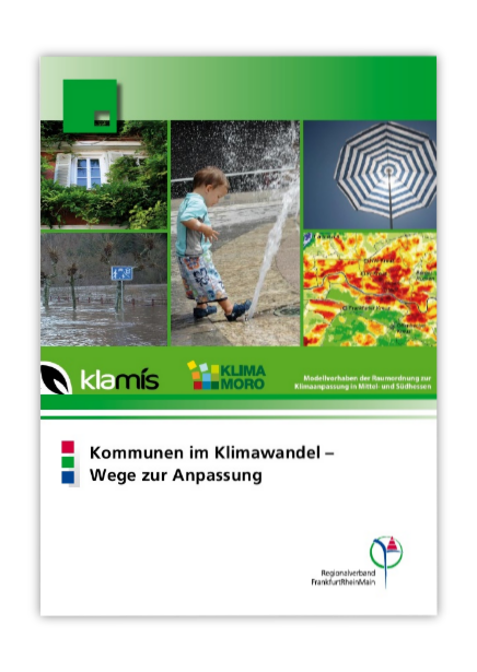 Cover Leitfaden: Kommunen im Klimawandel